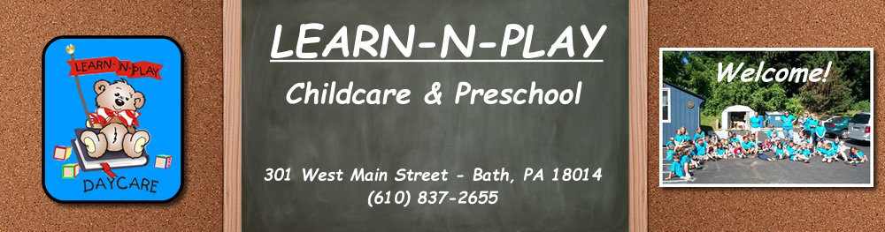 LEARN-N-PLAY DAYCARE LLC --  Child Day Care & Preschool located in Bath, PA